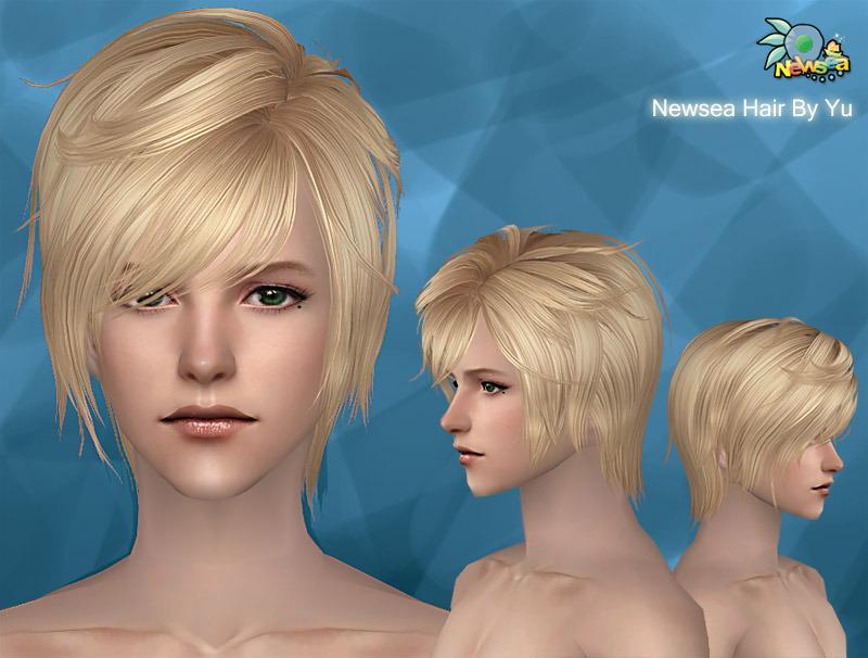 Прически для мужчин Hair019male