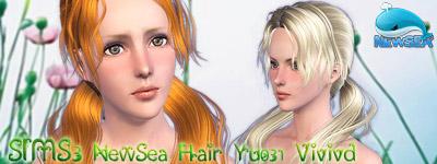 peinados para los sims 2